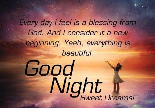 Good Night Blessings