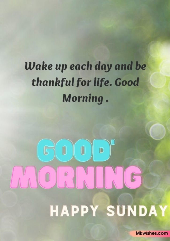 Download Beautiful Good Morning Sunday Quotes images