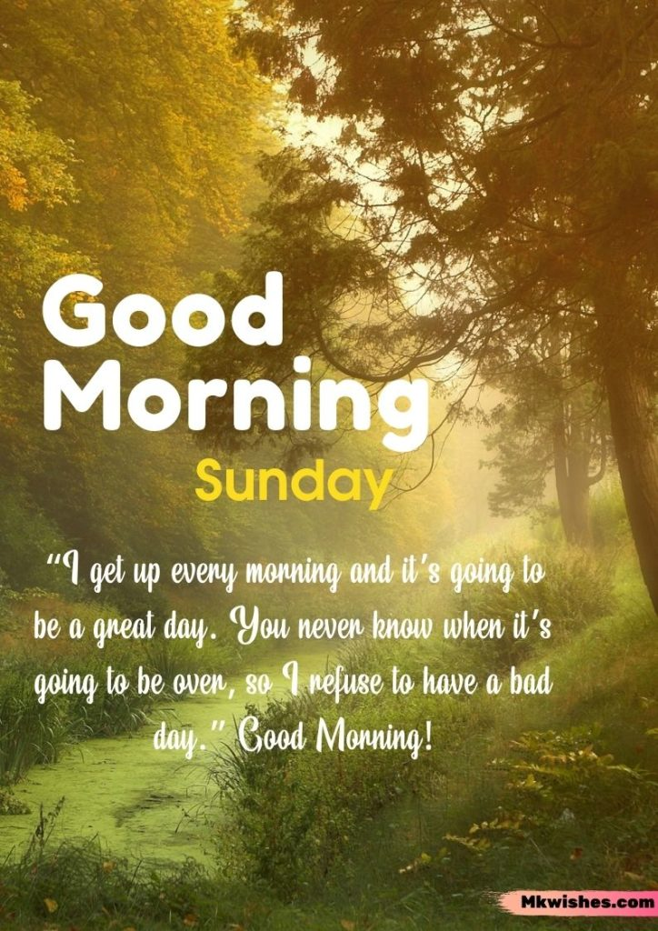 Sunday Good Morning quotes images