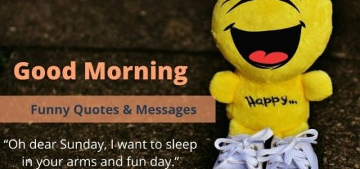 Funny Good Morning quotes & messages
