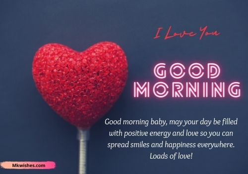 I love you good morning messages images