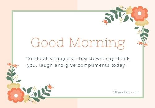 Best good morning flowers with messages images