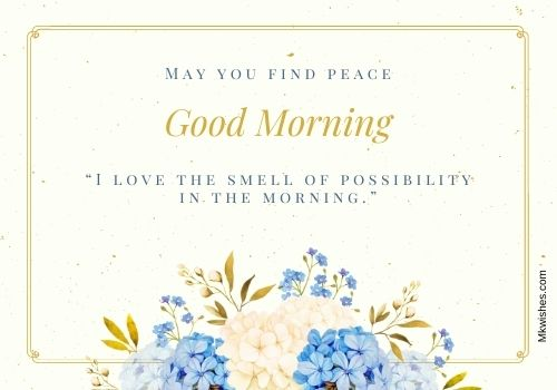 Download Good Morning flowers Quotes images