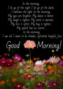 Beautiful Good Morning Text Pictures