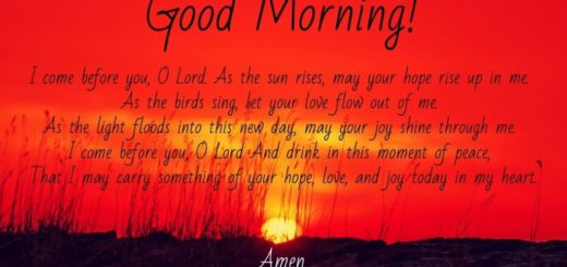 Morning Prayers Images