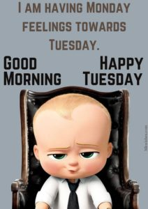 Tuesday Good Morning Quotes Images