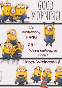 Funny Good Morning Wednesday Images