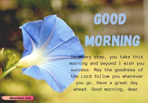 Latest Good Morning prayer messages in English