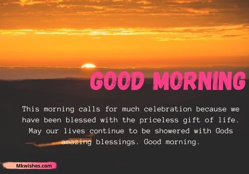 Good Morning prayer wishes messages for free downloads