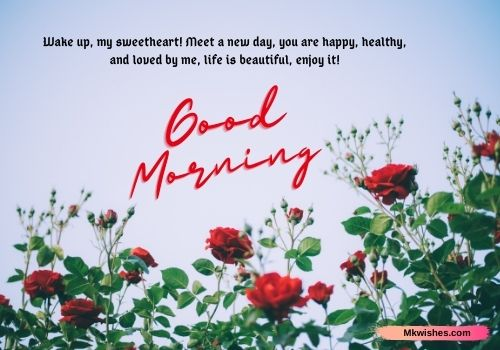 Good Morning Rose images with quotes for him