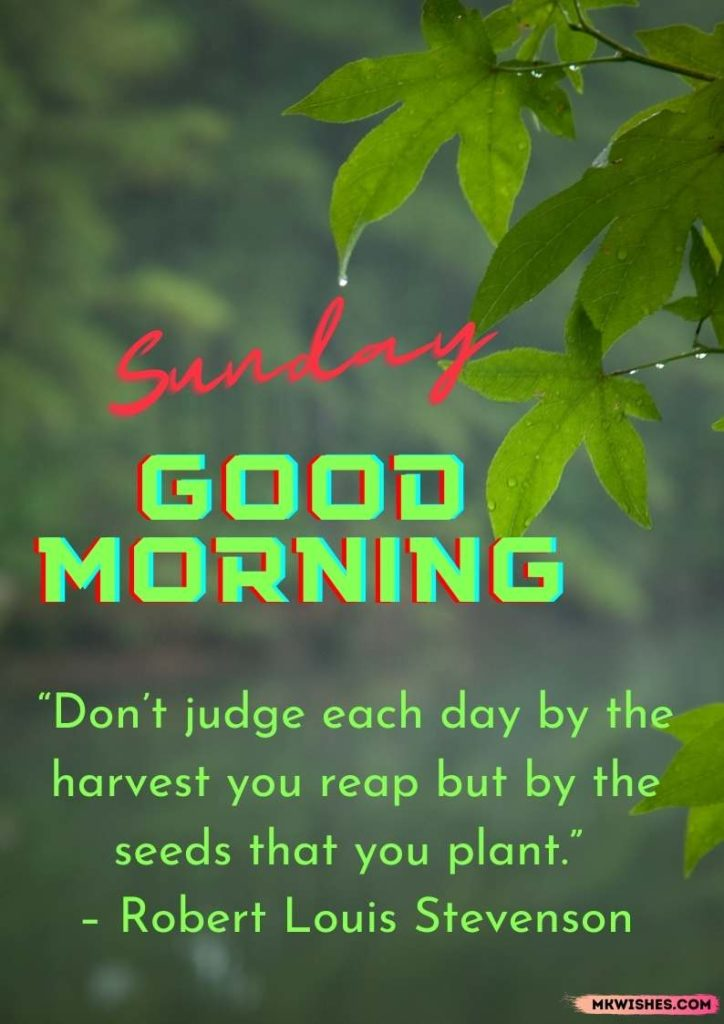 Good Sunday morning wishes images with quotes