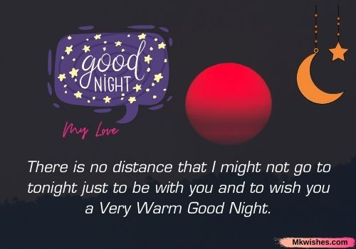 Good Night My love quotes images