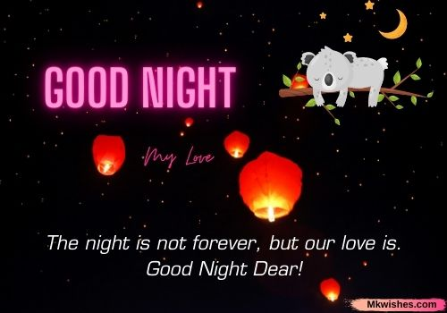Latest Good Night My love quotes images