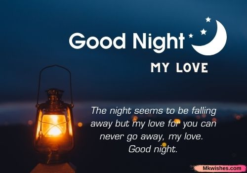 Latest Good Night My Dear love quotes images