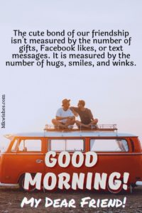Good Morning Messages for Friends Images