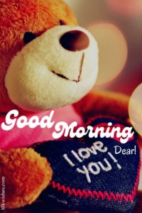 Good Morning I love You Dear Images