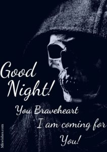 Halloween Good Night Wishes Images