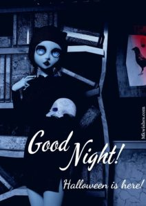 Halloween Cartoons Good Night Images