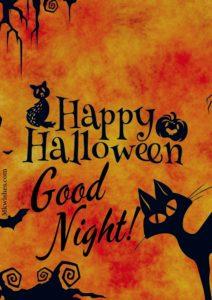 Happy Halloween Good Night Images