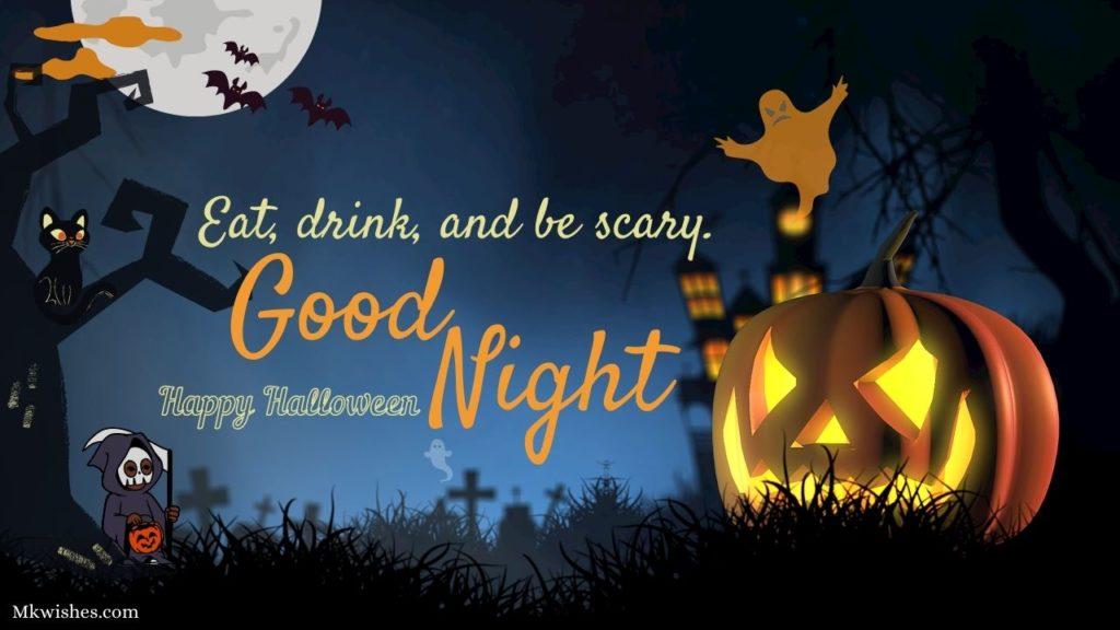 Good Night Happy Halloween Images