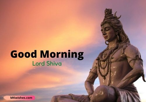 Beautiful Good Morning Lord Shiv images