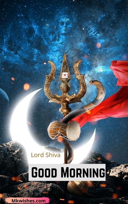 Good Morning Lord Shiva images
