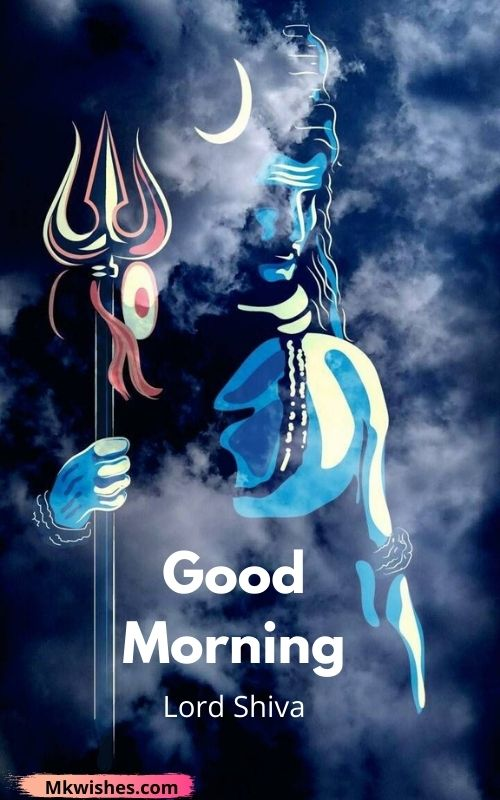 Lord Shiva Good Morning images for status