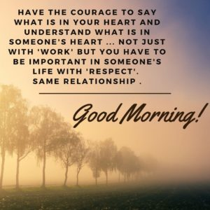 Inspirational Good Morning Quotes Images
