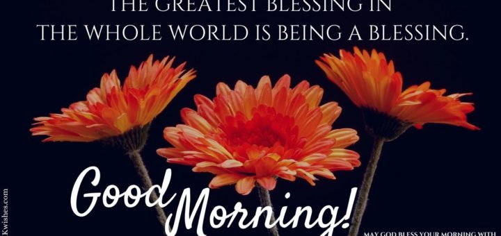 Good Morning Blessings Pics