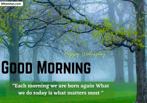 Happy Wednesday Good Morning Quotes Images