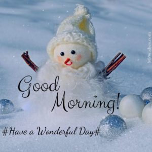 Good Morning Snowman Images