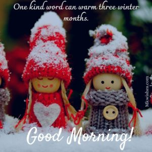 Good Morning Winter Messages Images