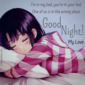 Good Night Girl Images