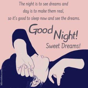 Good Night Captions Pics