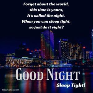 Good Night Status Pictures