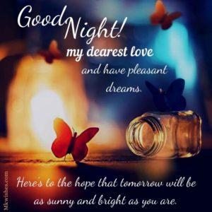 Good Night Dear Love Images