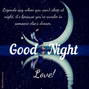 Good Night wishes for Her Images