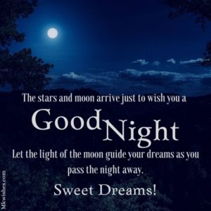 Good Night Status Pictures