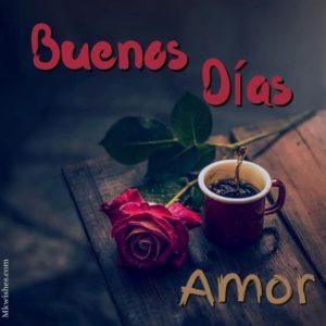 buenos dias amor saludos