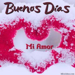 Buenos dias mi amor Imagenes