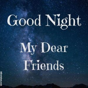 Good Night for friends