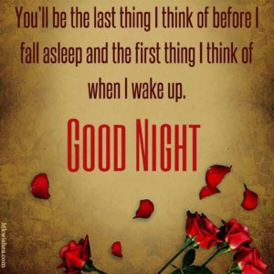 Good Night romantic messages