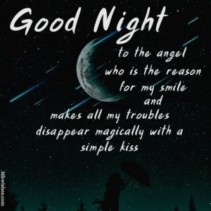 Good Night text