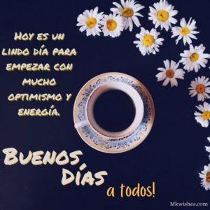 Buenos días a todos