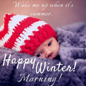 Good Morning Happy Winter Images