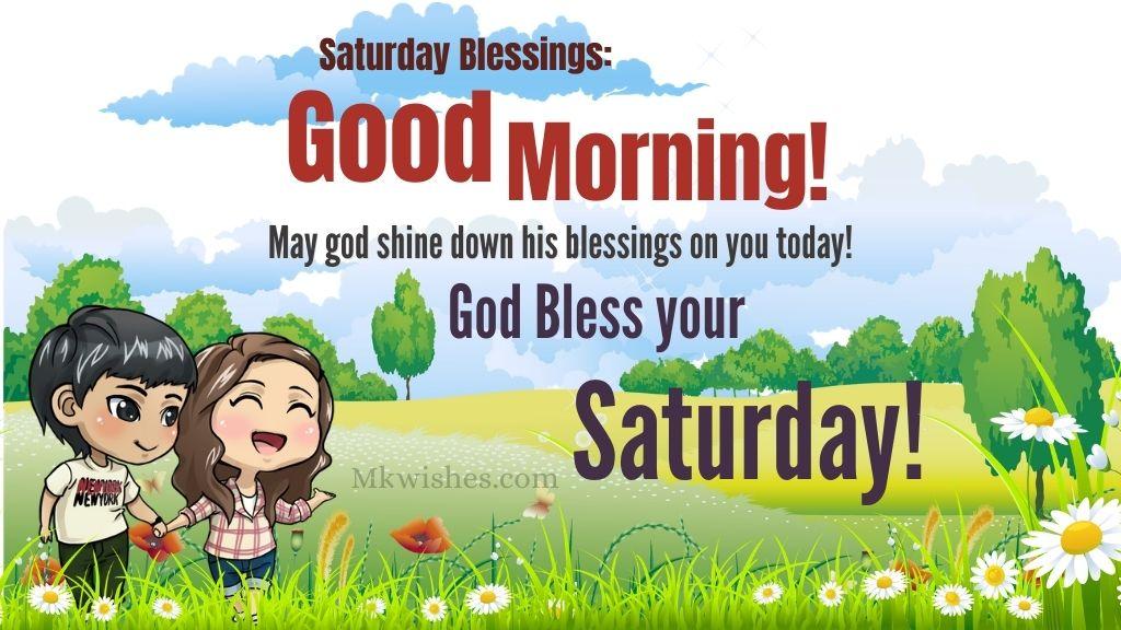 Good Morning Saturday Blessings