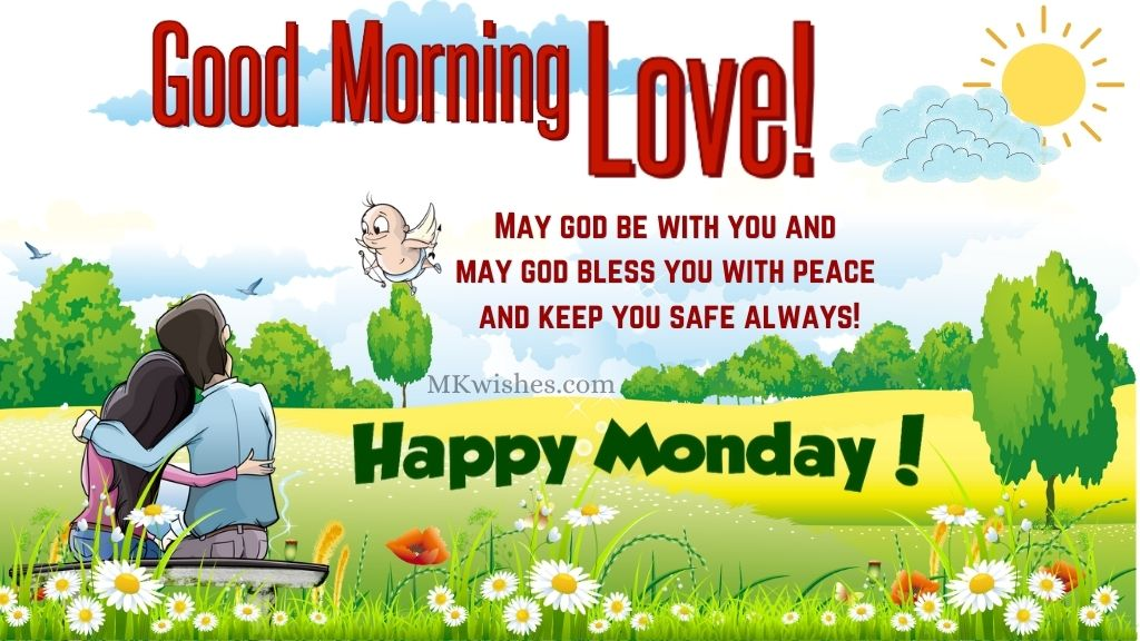 Good Morning Happy Monday Blessings Images