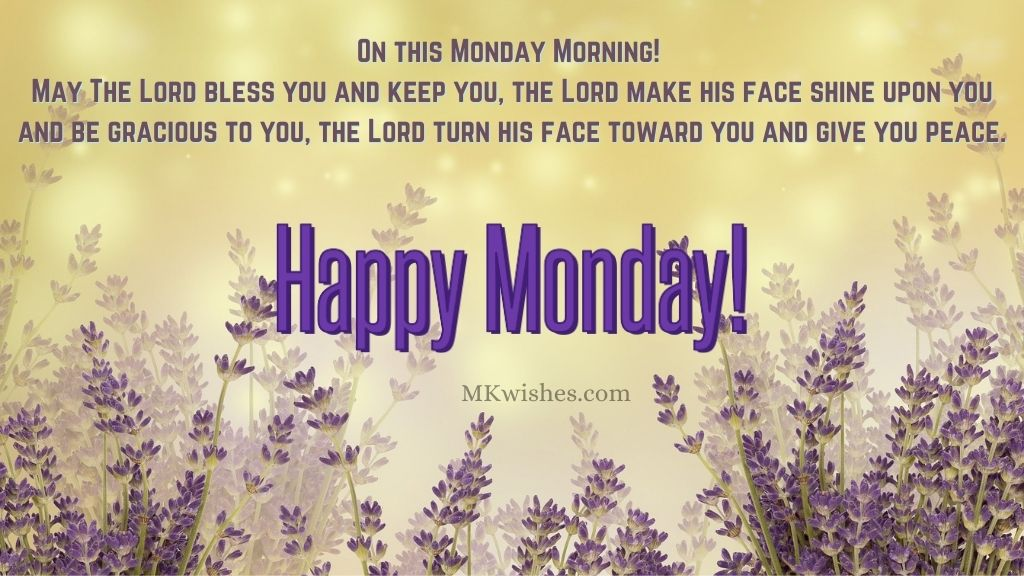 Happy Monday Blessings Images