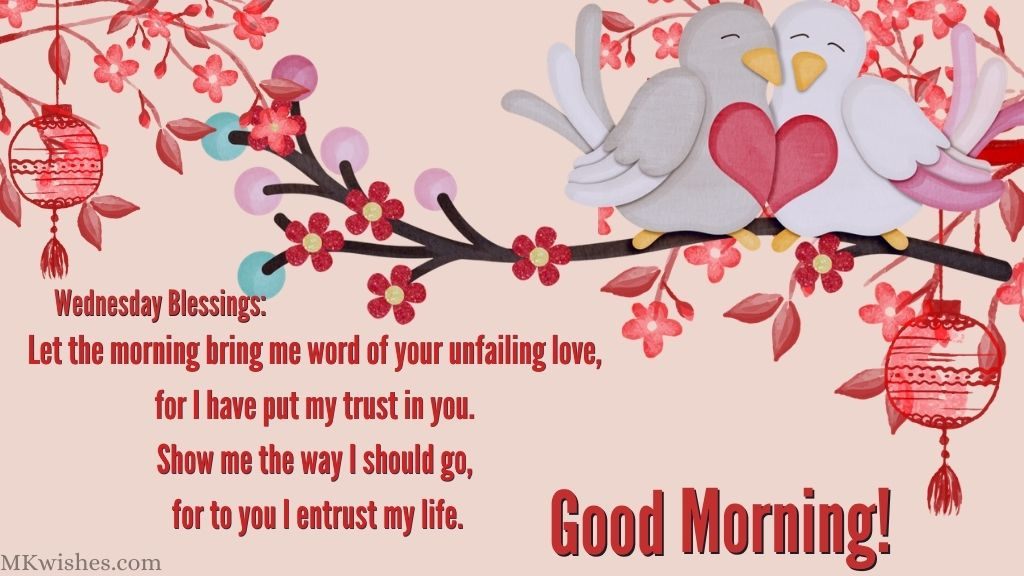Wednesday Good Morning Blessings Images