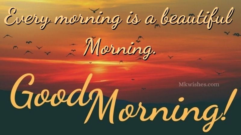 Good Morning Beautiful Quotes Image